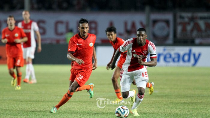Rohit Chand Playing Against AFC Ajax