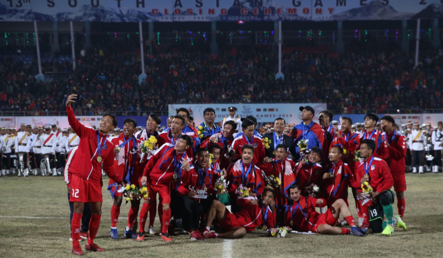 Nepal has once again become a champion in South Asian Games (SAG)