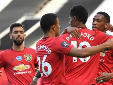 Man United On Fire, Unbeaten since the Competition Returned