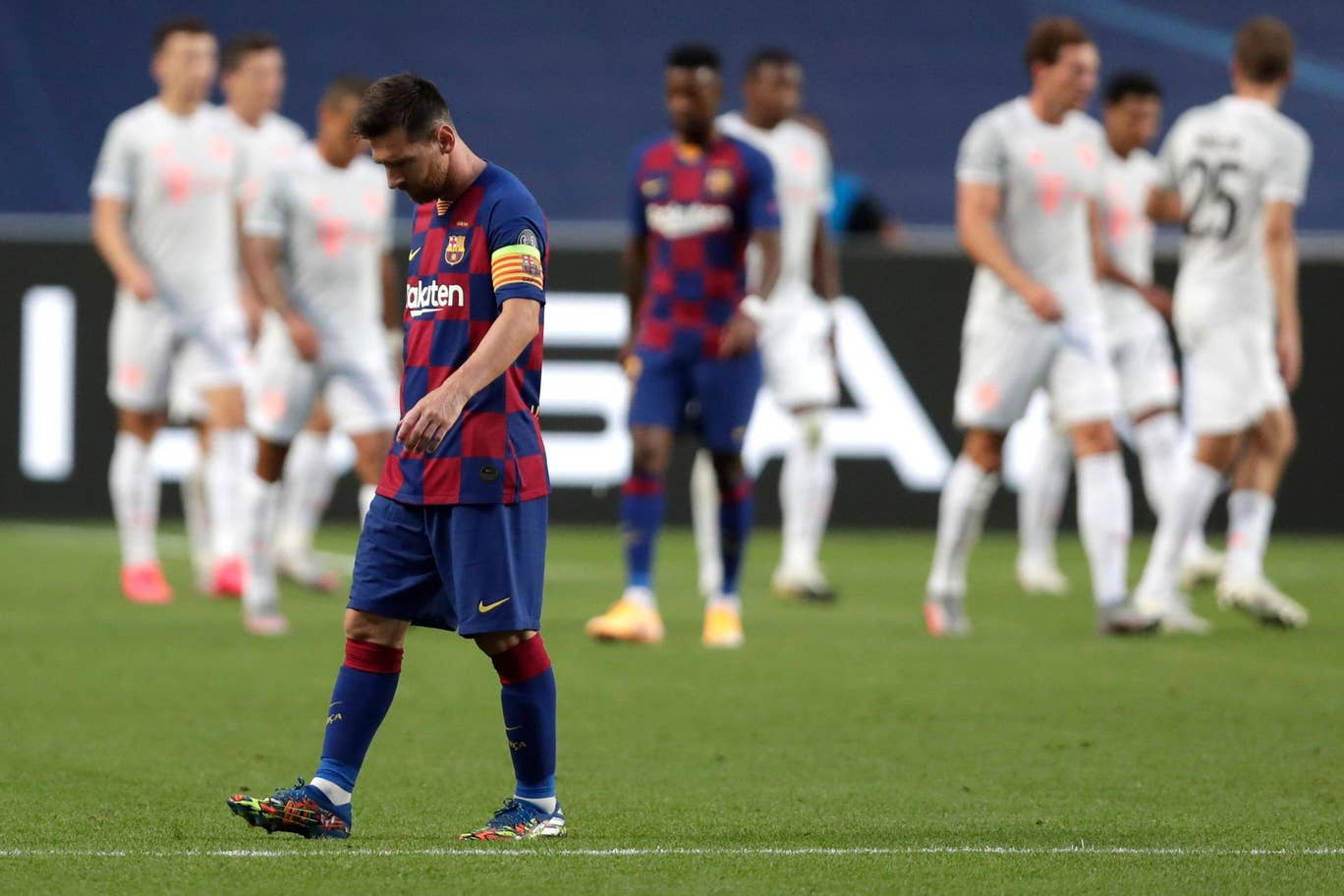 Lionel Messi told Barcelona that he wanted to leave