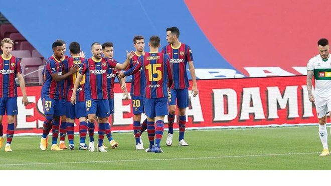 Barcelona won the 55th edition of the Joan Gamper Trophy