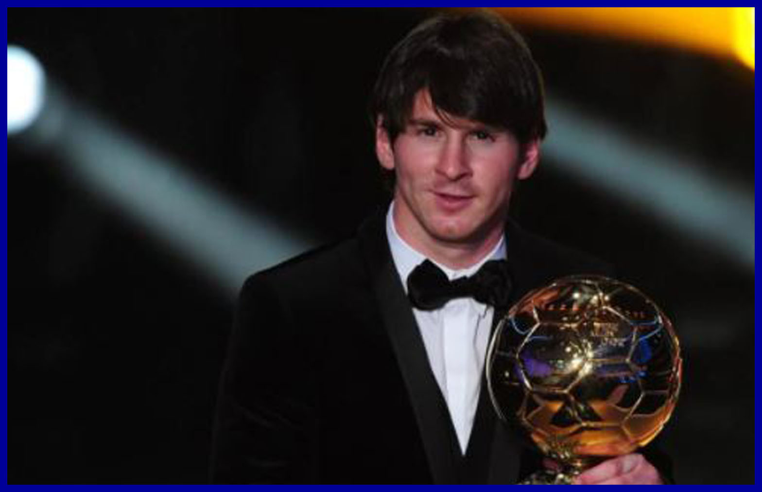Lionel Messi's Second Ballon d' Or 2010