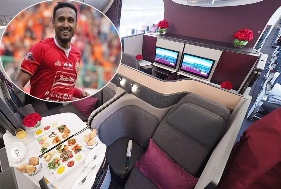 Rohit Chand Got Business Class Ticket From Persija to Return to Jakarta