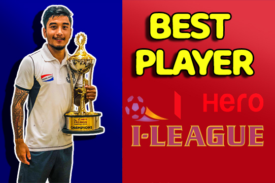 Abhishek Rijal included in Top 5 best players in I-League Qualifiers 2020
