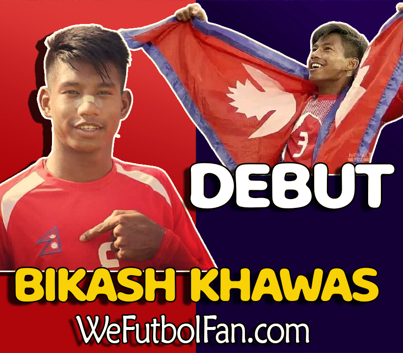 Bikash Khawas Debut for Nepal against Bangladesh