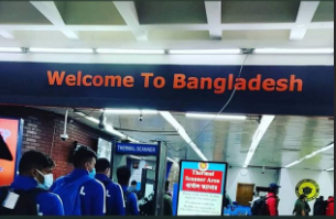 Nepali Football Team arrived in Dhaka; Nepal vs Bangladesh